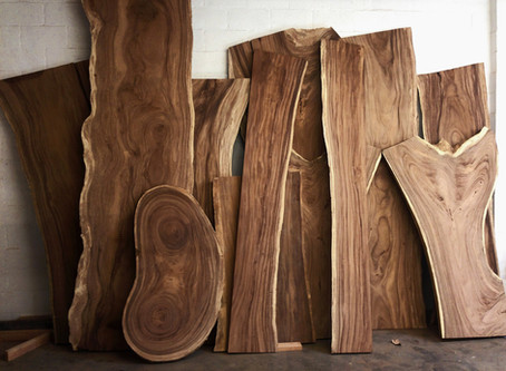 Using Live Edge Wood Slabs To Improve The Elegance Of Your Home