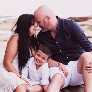 The Smith's Family Beach Family Portrait