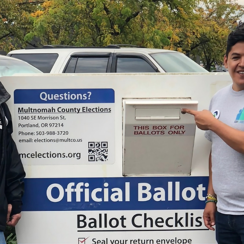 Door Knock for Rep. Chris Gorsek and Eddy Morales