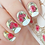 Thumbnail: LWE Water Decal - J157P Gold Foil French Rose