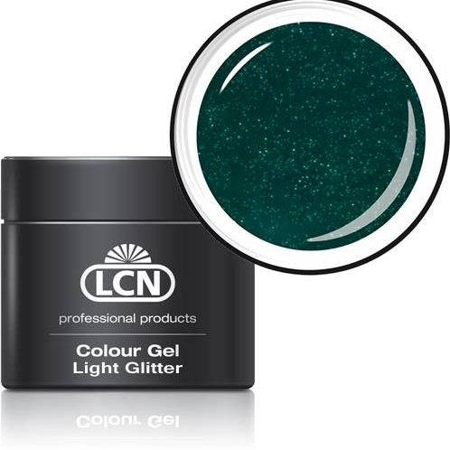 LCN LIGHT GLITTER GEL - #10 ECO GREEN