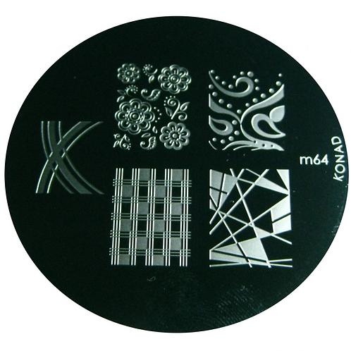 Konad Image Plate - M64