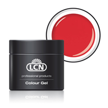 LCN COLOUR GEL - #260 SUNSET ORANGE 5ML (silver jar)