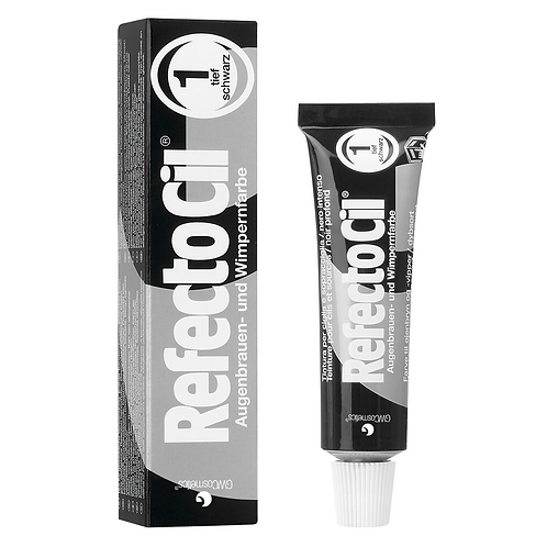 RefectoCil Tint #1 Pure Black 15ml