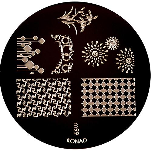Konad Image Plate - M99