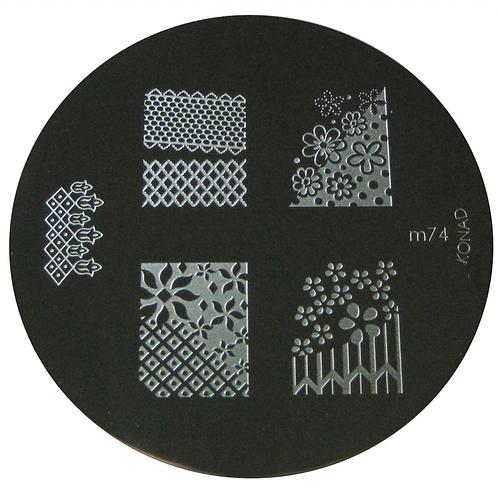 Konad Image Plate - M74