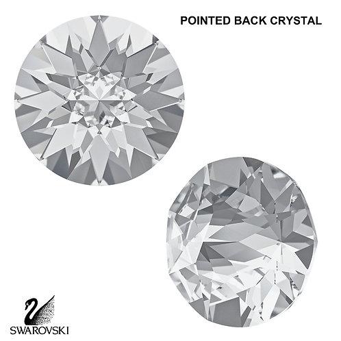 SS29 Swarovski Crystal Pointed Back (6pc)
