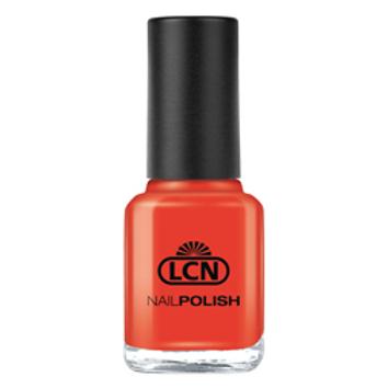 LCN NAIL POLISH - #5 ORANGE RED 8ML
