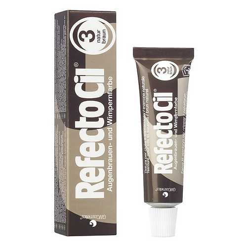 RefectoCil Tint #3 Natural Brown 15ml