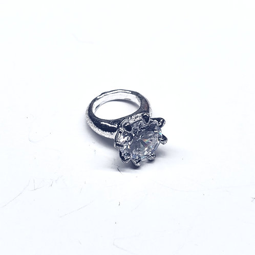 Ring Bling - Round (small) 1pc