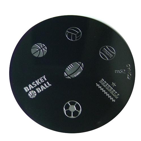 Konad Image Plate - M52