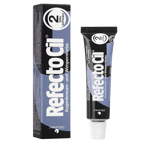 RefectoCil Tint #2 Blue Black 15ml