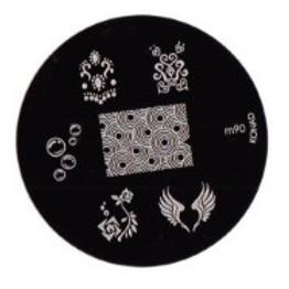 Konad Image Plate - M90