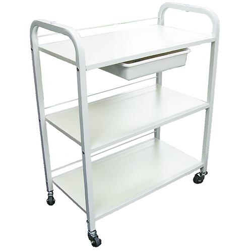 Trolley - 3 tier w/ drawer
