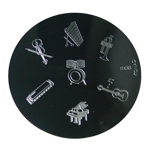 Konad Image Plate - M58