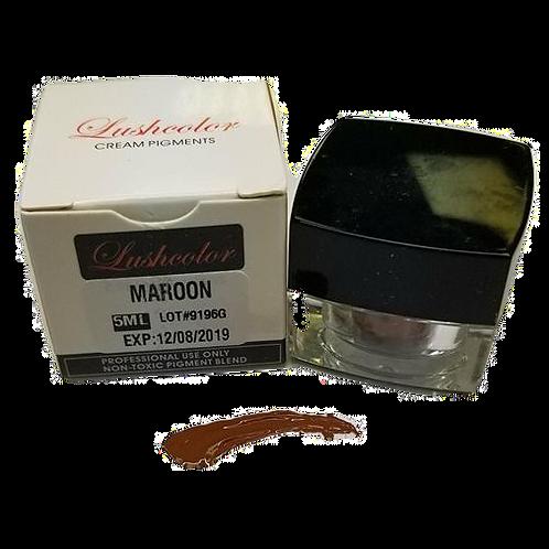 LUSH COLOR MAROON CREAM PIGMENT 5ML