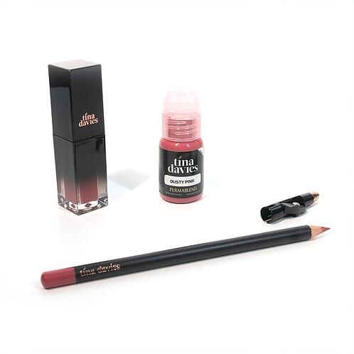 I 💋 INK Lip Trios - Dusty Pink