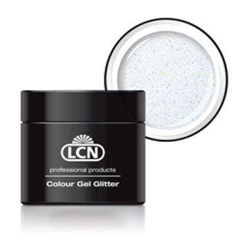 LCN GLITTER GEL - #24 WHITE HOLOGRAM 5ML