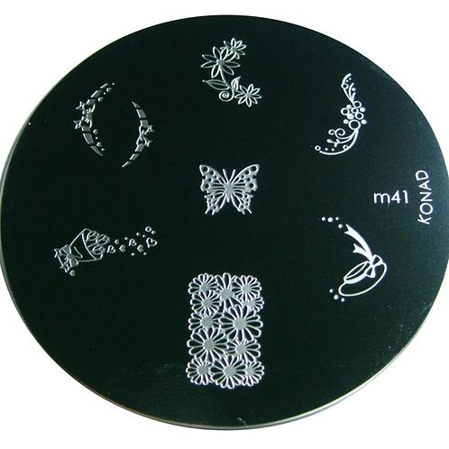 Konad Image Plate - M41
