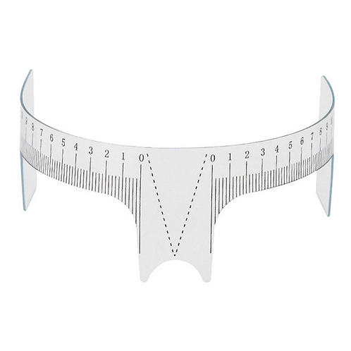 Plastic Eyebrow Ruler