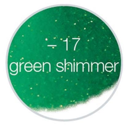 LCN Ultima #17 - Green Shimmer 3g