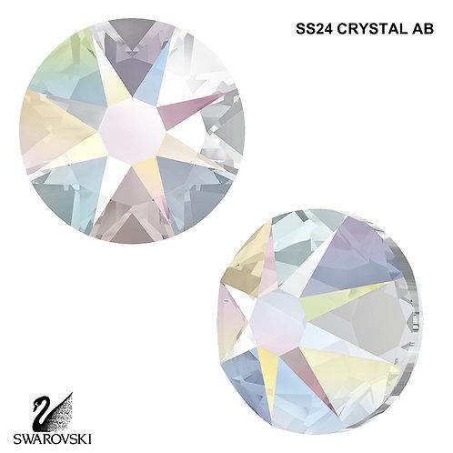SS24 Swarovski Crystal - Crystal AB (24pc)