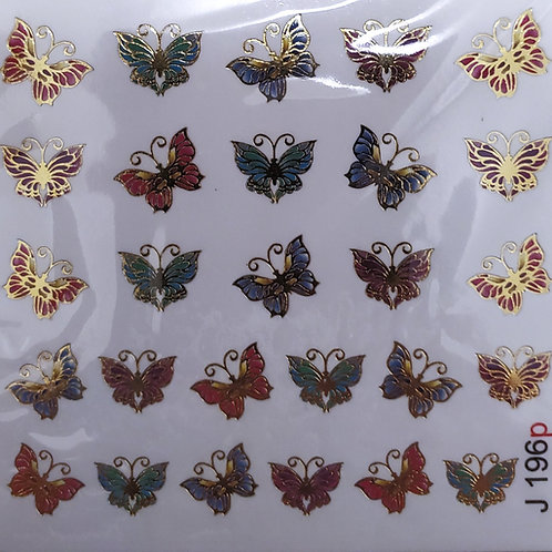 LWE Water Decal - J196P Butterfly