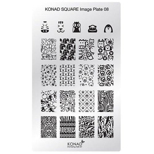 Konad Square Image Plate - M8