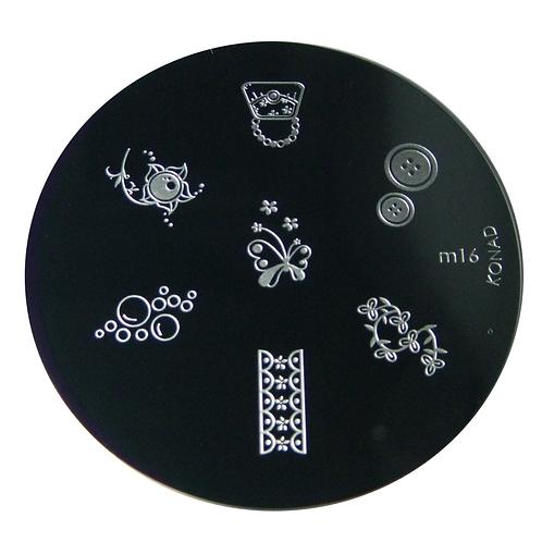 Konad Image Plate - M16