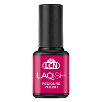 LAQUISH PEDICURE POLISH - #18 PINK UP THE PARTY 8ML