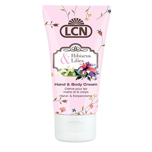 Secret Garden Hand & Body Cream - Hibiscus & Lilies 50ml