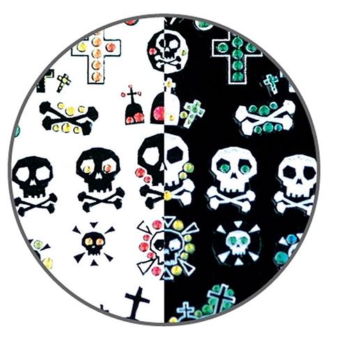 LCN Nail Art Stickers - Skulls