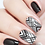 Thumbnail: LWE Water Decal - F99 Black & White Stripes