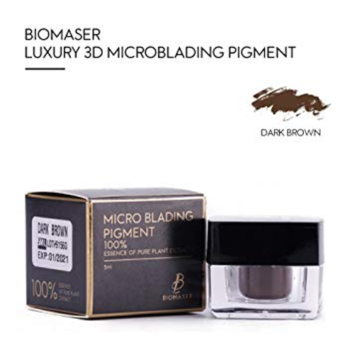 Biomaser Dark Brown Microblading Pigment