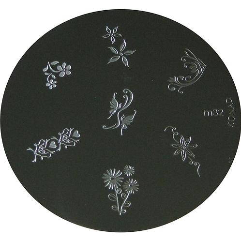 Konad Image Plate - M32