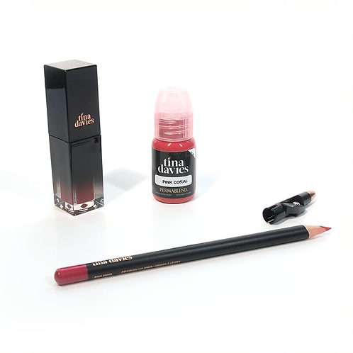 I 💋 INK Lip Trios - Pink Coral