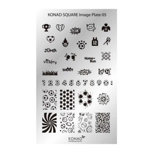 Konad Square Image Plate - M5