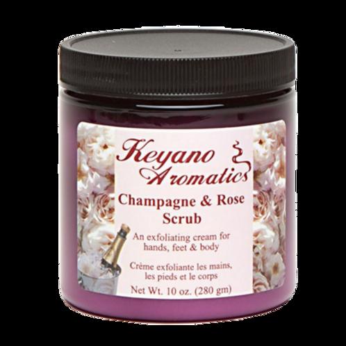 Keyano Champagne & Rose Scrub