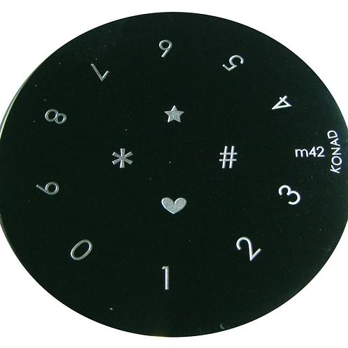 Konad Image Plate - M42
