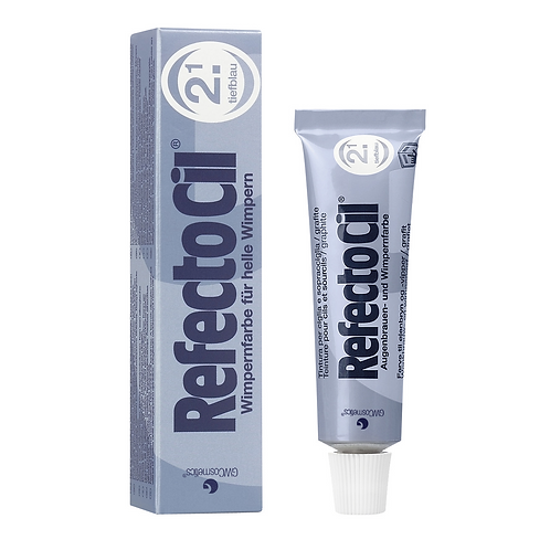 RefectoCil Tint #2.1 Deep Blue 15ml
