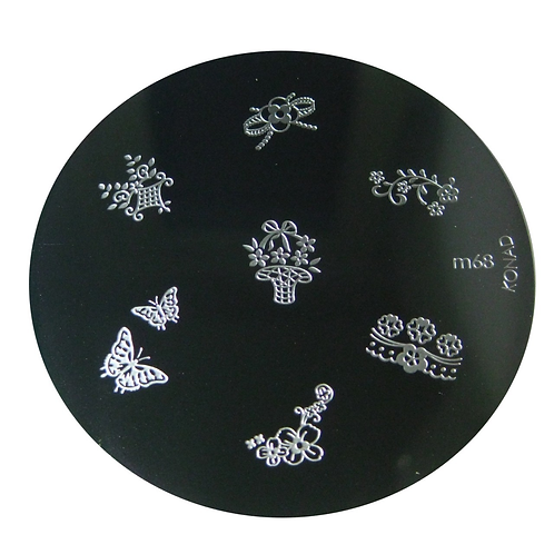 Konad Image Plate - M68