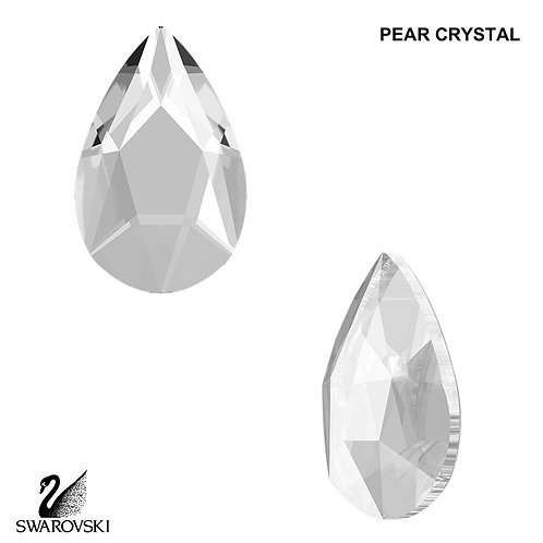 Swarovski Pear Crystal (12pc)