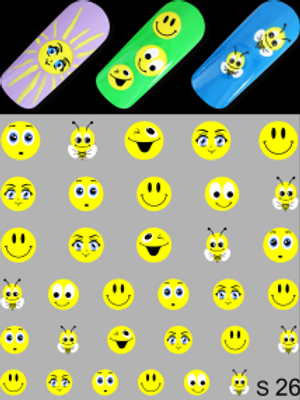 LWE Water Decal - S26 Emoji