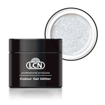 LCN GLITTER GEL - #3 WHITE 5ML
