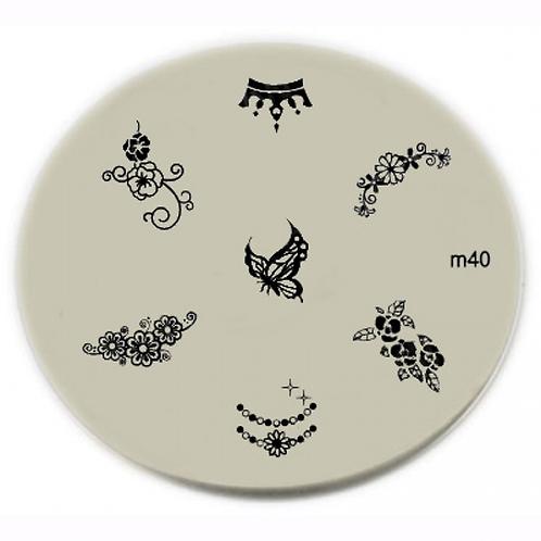 Konad Image Plate - M40