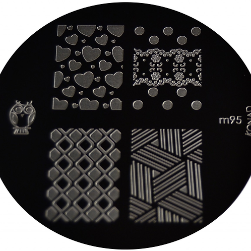 konad Image Plate - M95