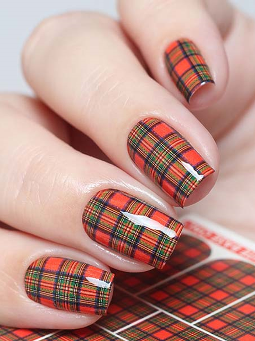WATER DECAL - N698 PLAID KILT