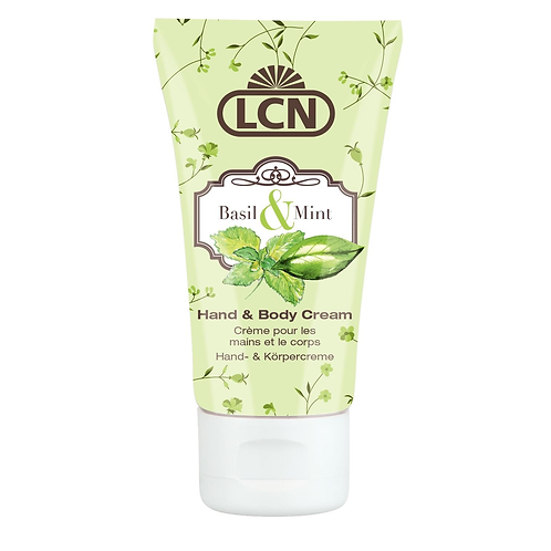 Secret Garden Hand & Body Cream - Basil & Mint 50ml