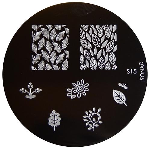 Konad Image Plate - S15