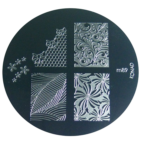 Konad Image Plate - M89